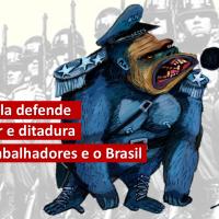 General gorila defende Golpe Militar e Ditadura contra aos trabalhadores brasileiros
