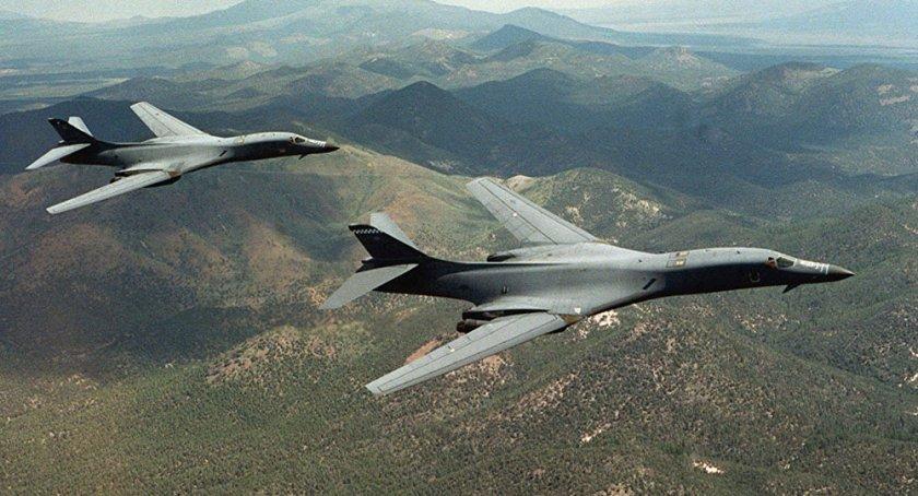 Bombardeiros B1-B em provocação fronteiriça contra a RPDC