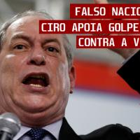 Ciro Gomes pede a derrubada do Governo Maduro