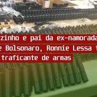 Amigo de Bolsonaro tem 117 fuzis apreendidos