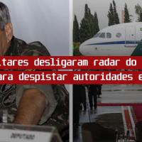 Militares desligaram o Radar do Aerococa para despistar autoridades espanholas