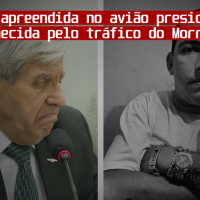 Cocaína apreendida no avião da comitiva presidencial foi fornecida pelo chefe do tráfico do Morro do Dendê