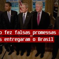 O Império fez falsas promessas e em troca militares entregaram o Brasil