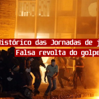 Defesa de Junho de 2013 é parte do golpe no Brasil