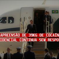 Aerococa: apreensão de 39kg de cocaína no avião presidencial continua sem respostas