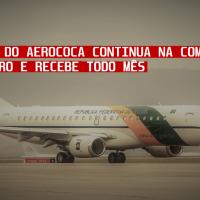 Traficante do Aerococa continua na comitiva de bolsonaro e Recebe todo mês