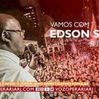 #FirmeNaLuta: Edson Santos para vereador do Rio