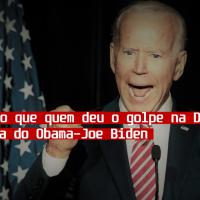 Relembrando que quem deu o golpe na Dilma foi a turma do Obama- Joe Biden
