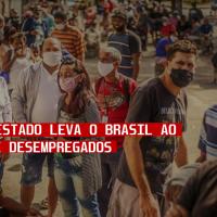 Golpe de Estado leva brasil ao recorde de desempRegados