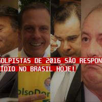 Todos os golpistas de 2016 são responsáveis pelo genocídio no Brasil hoje