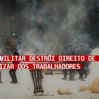 Ditadura Militar destrói direito de torcer e de organizar dos trabalhadores