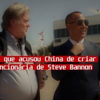 Mercenária que acusou a China de criar o novocoronavírus é funcionária de Steve Bannon