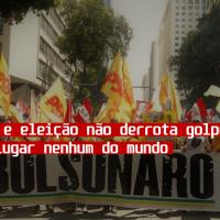 Bandeiraço e Eleição não derrota golpe de Estado em lugar nenhum do mundo