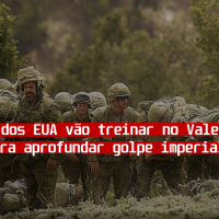 Militares dos EUA vão treinar no Vale do Paraíba para aprofundar o golpe imperialista