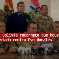 Justiça na Bolívia reconhece que houve golpe de Estado contra Evo Morales